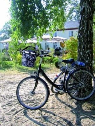 リクセンカウル KLICKfix ライゼンタール バイクバスケット KF880 使用例 公園にて