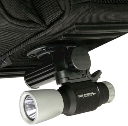 リクセンカウル KLICKfix オールラウンダーツーリング KT815 ライトホルダー使用例